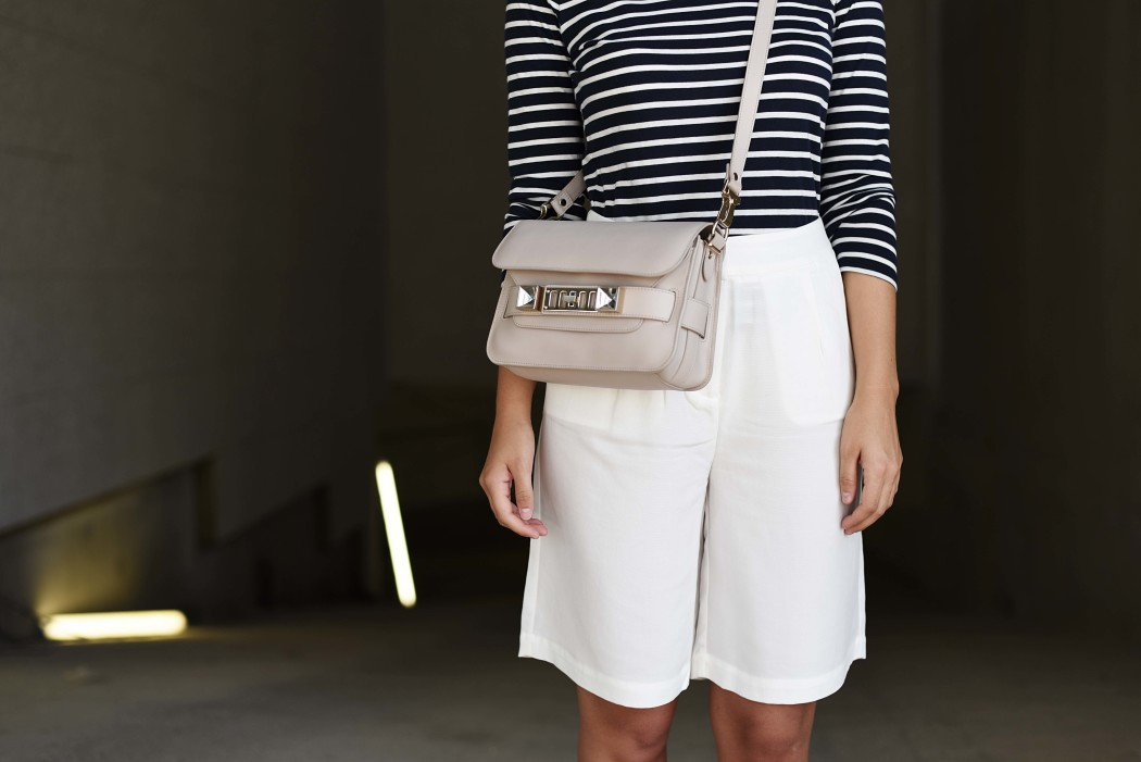 Outfit culotte stripe shirt and proenza schouler for Boden fashion deutschland