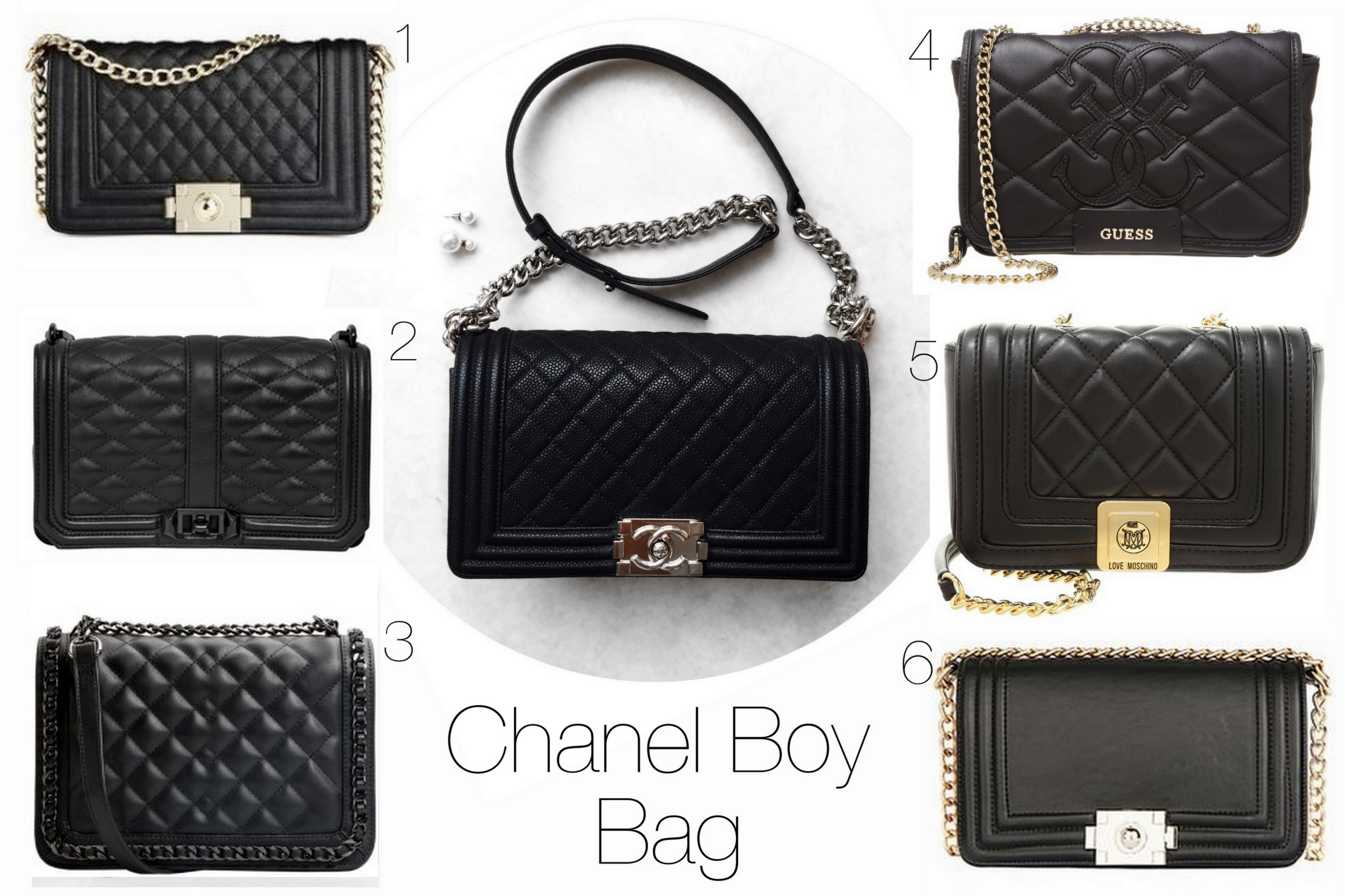 chanel boy bag low budget look alikes. Black Bedroom Furniture Sets. Home Design Ideas