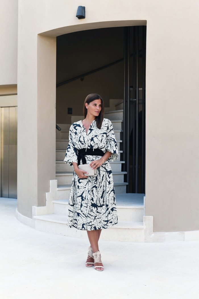 midi-dress-print-how-to-combine-fashiioncarpet
