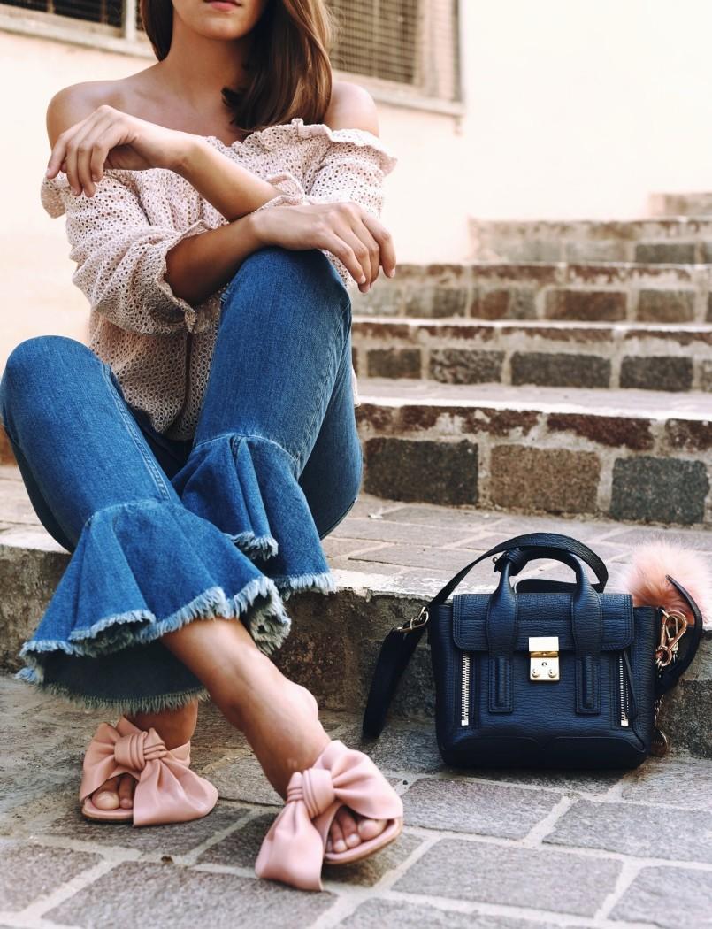 Paloma-Barcelo-FLORENCE-MULE-bow-flats-pink-nina-fashiioncarpet