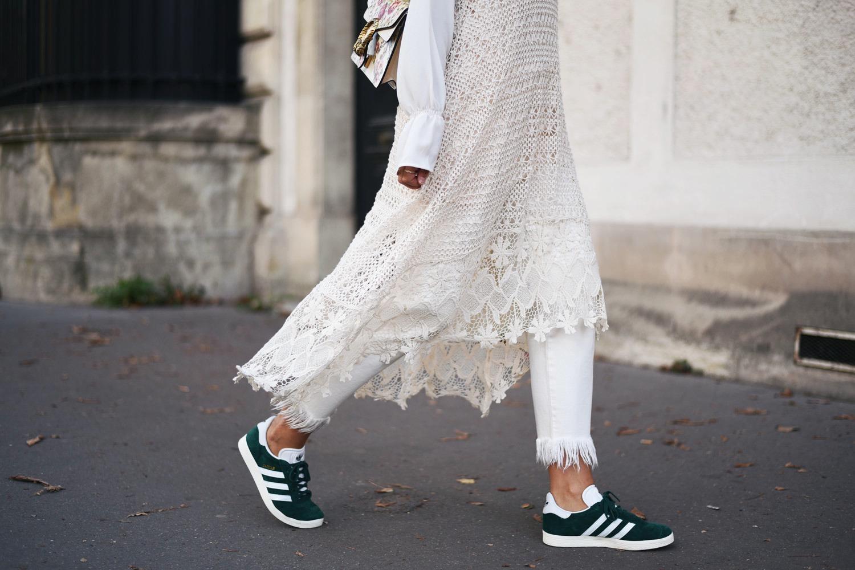 gazelle von adidas grün damen