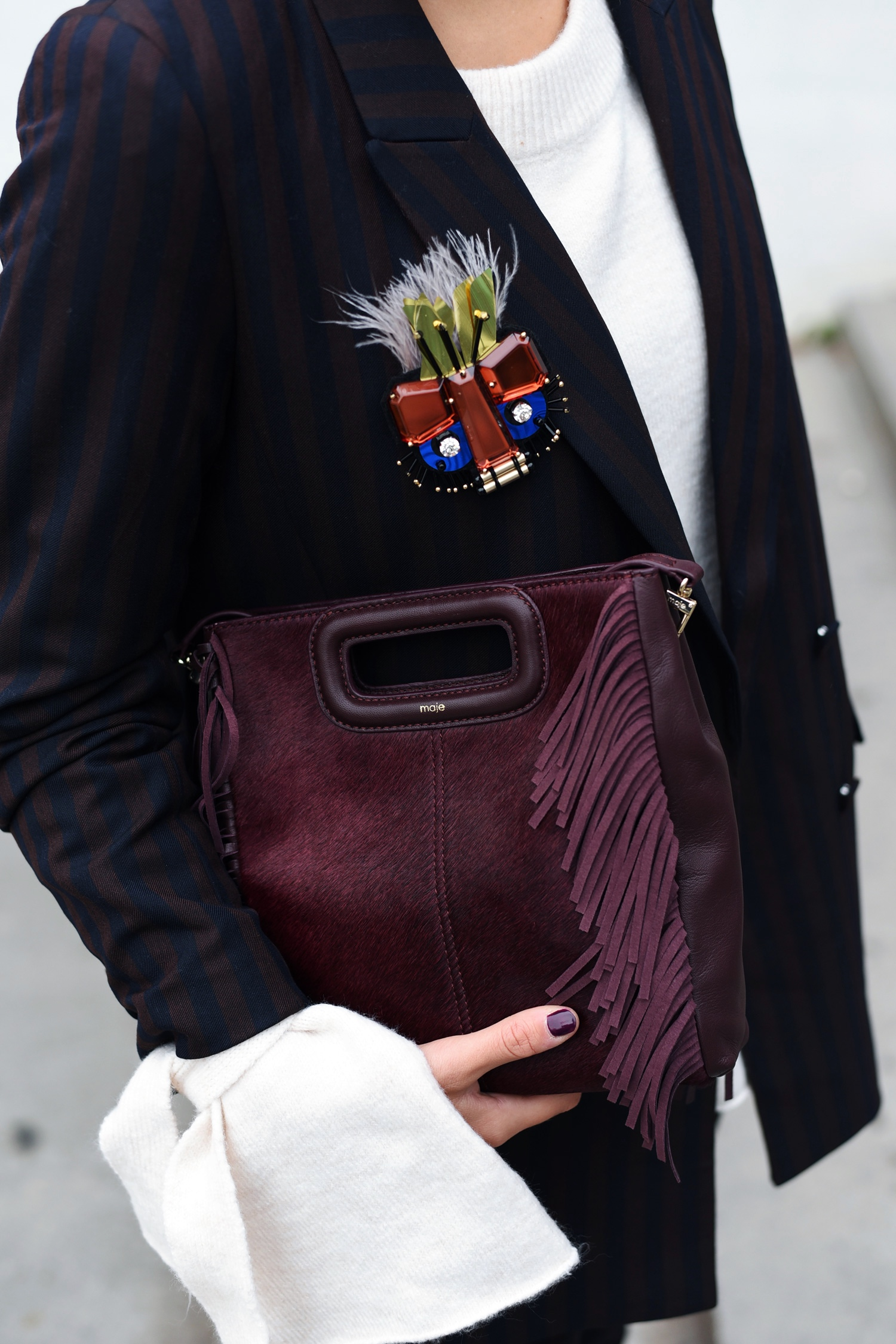 maje-fringed-bag-mini-burgundy-red-blogger-streetstyle-fashiioncarpet