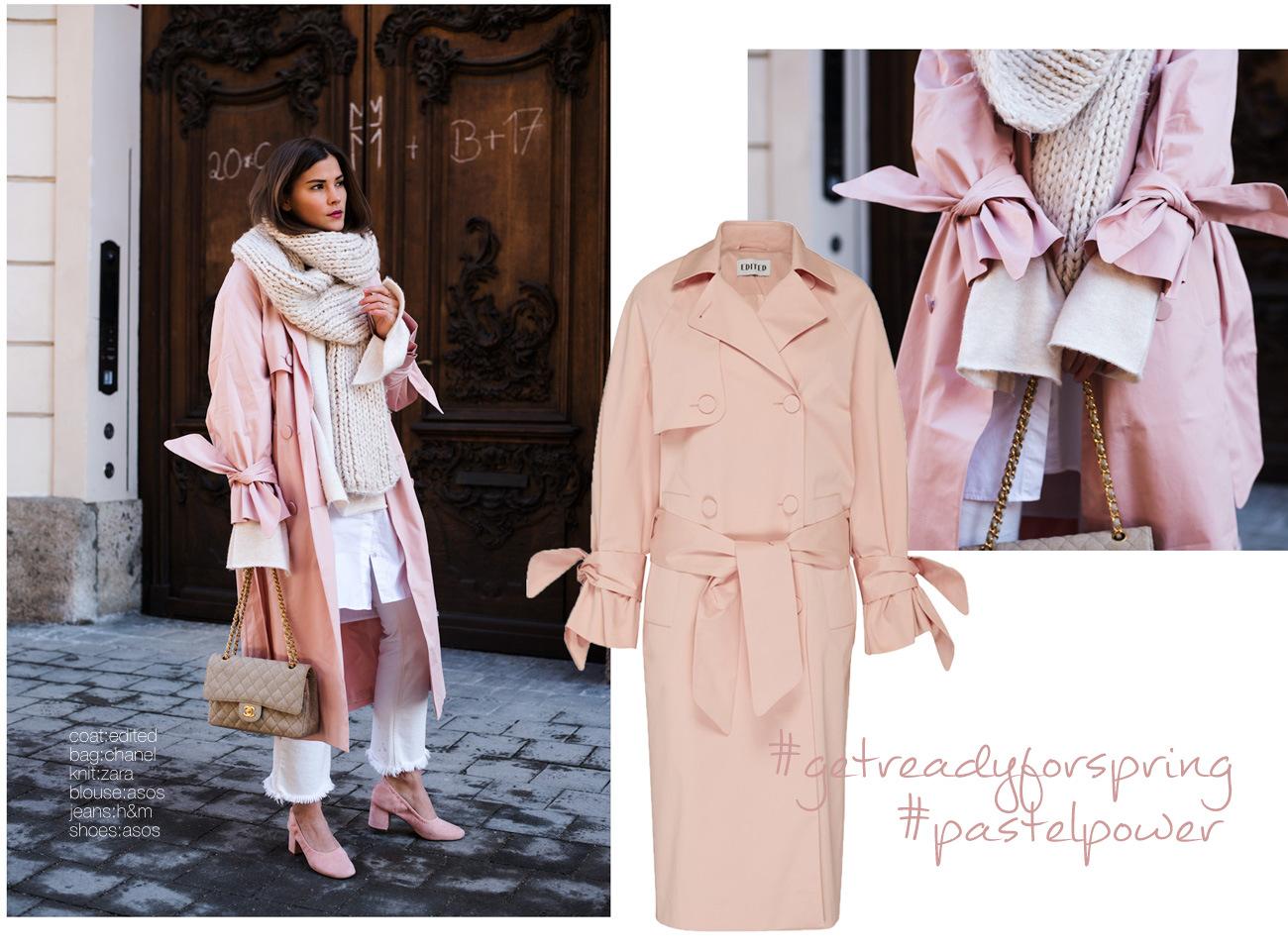 rosaner-trenchcoat-mit-trompetenärmeln-edited-the-label-blogger-it-piece-2017-chanel-2.55-stoff-fashiioncarpet