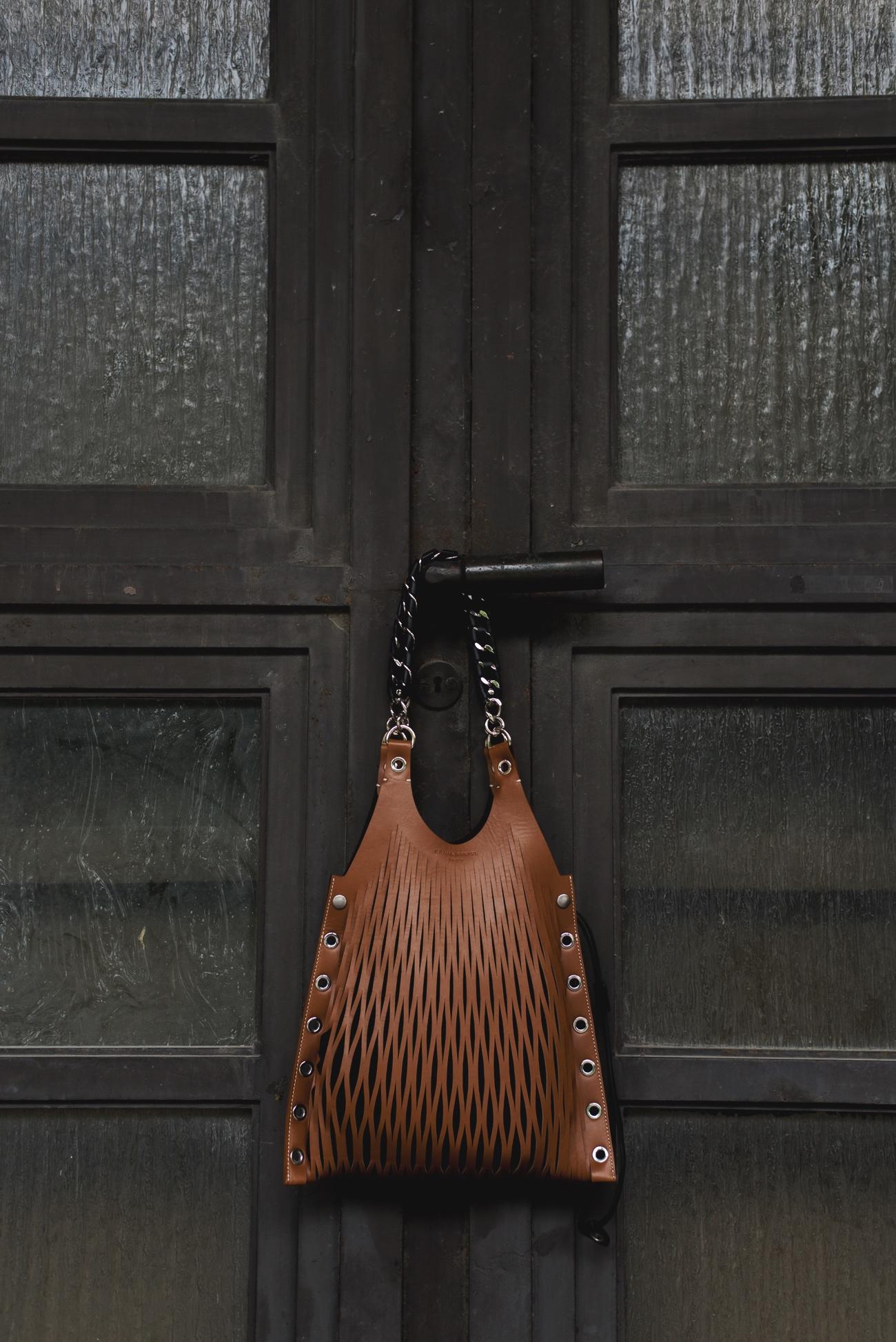 Sonia-Rykiel-netz-tasche-Camel-Le-Baltard-Lattice-Tote-braun-mittlere-größe-net-Bag-fashiioncarpet