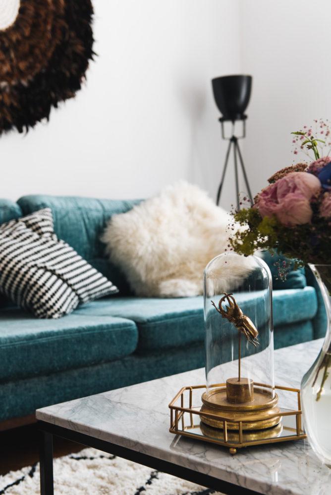 Wohnung einrichten und aufwerten tipps und tricks for Wohnzimmer marmortisch