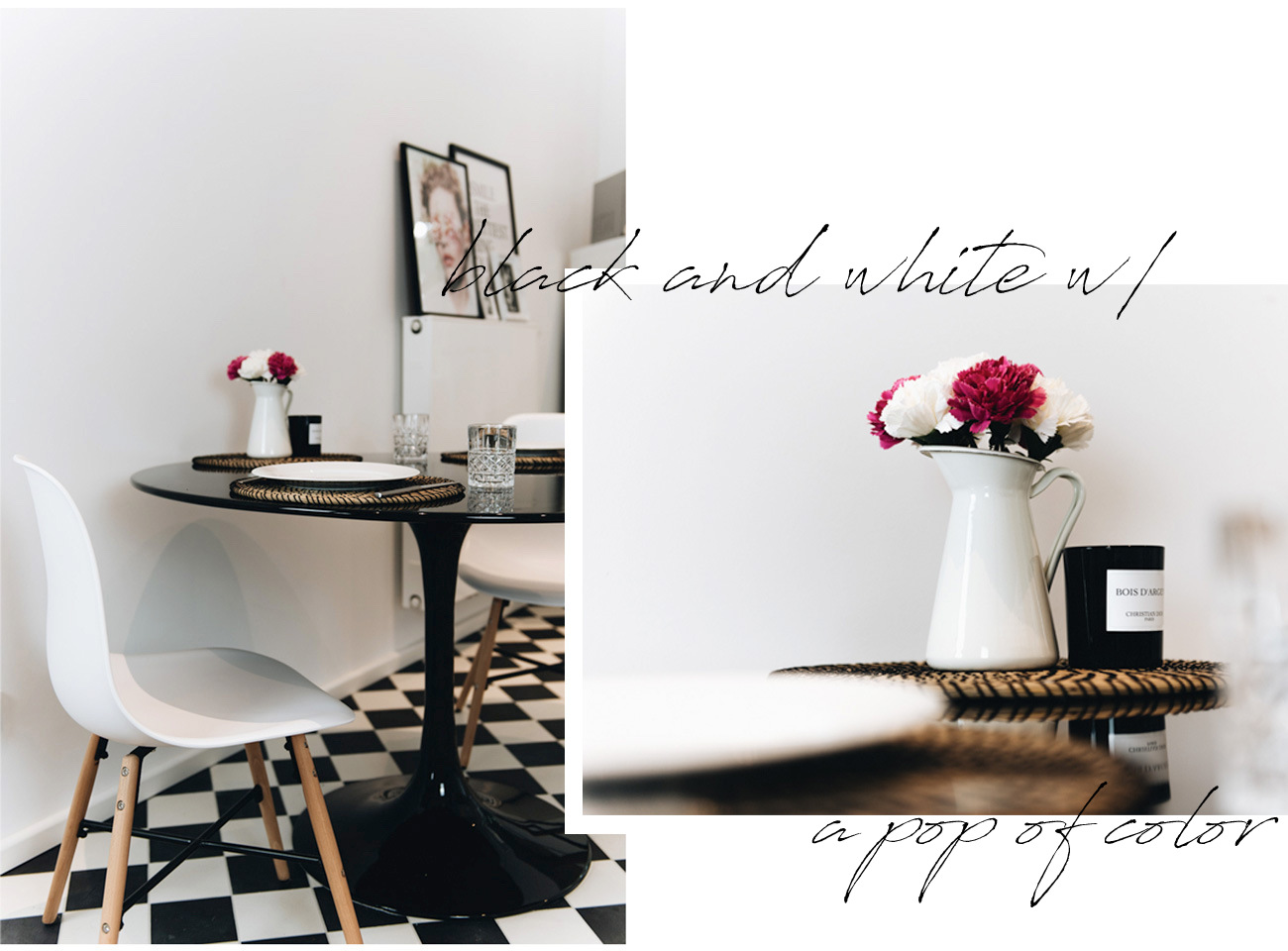 küchen-einrichtung-schwarz-weiß-schachbrett-fußboden-muster-nina-schwichtenberg-fashiioncarpet
