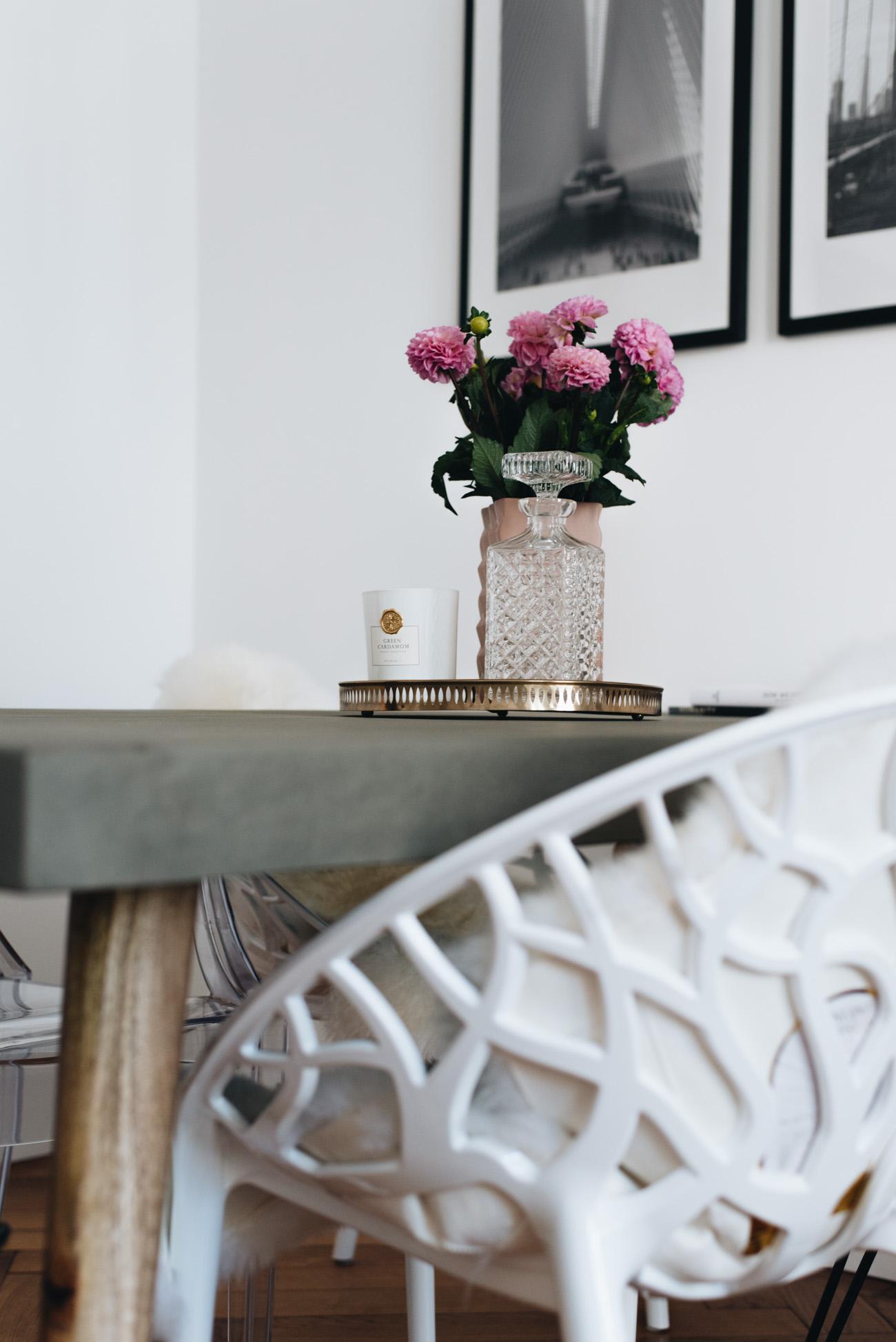 Modernes Esszimmer Essecke Nordal Betontisch Interior Inspiration Blogger