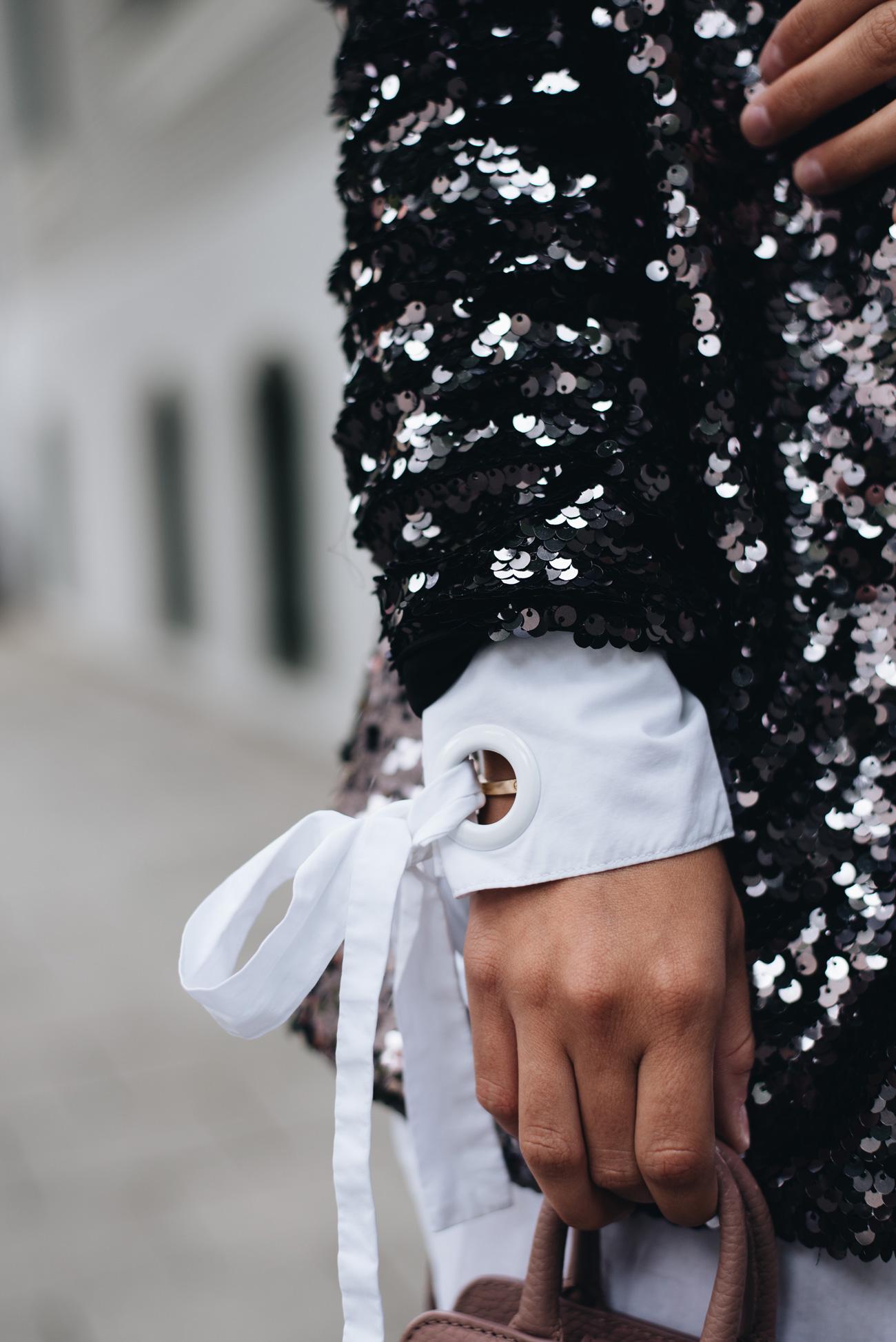 pailletten-blazer-schwarz-bluse-mit-schleifen-pinker-pailletten-rock-nina-schwichtenberg-fashiioncarpet