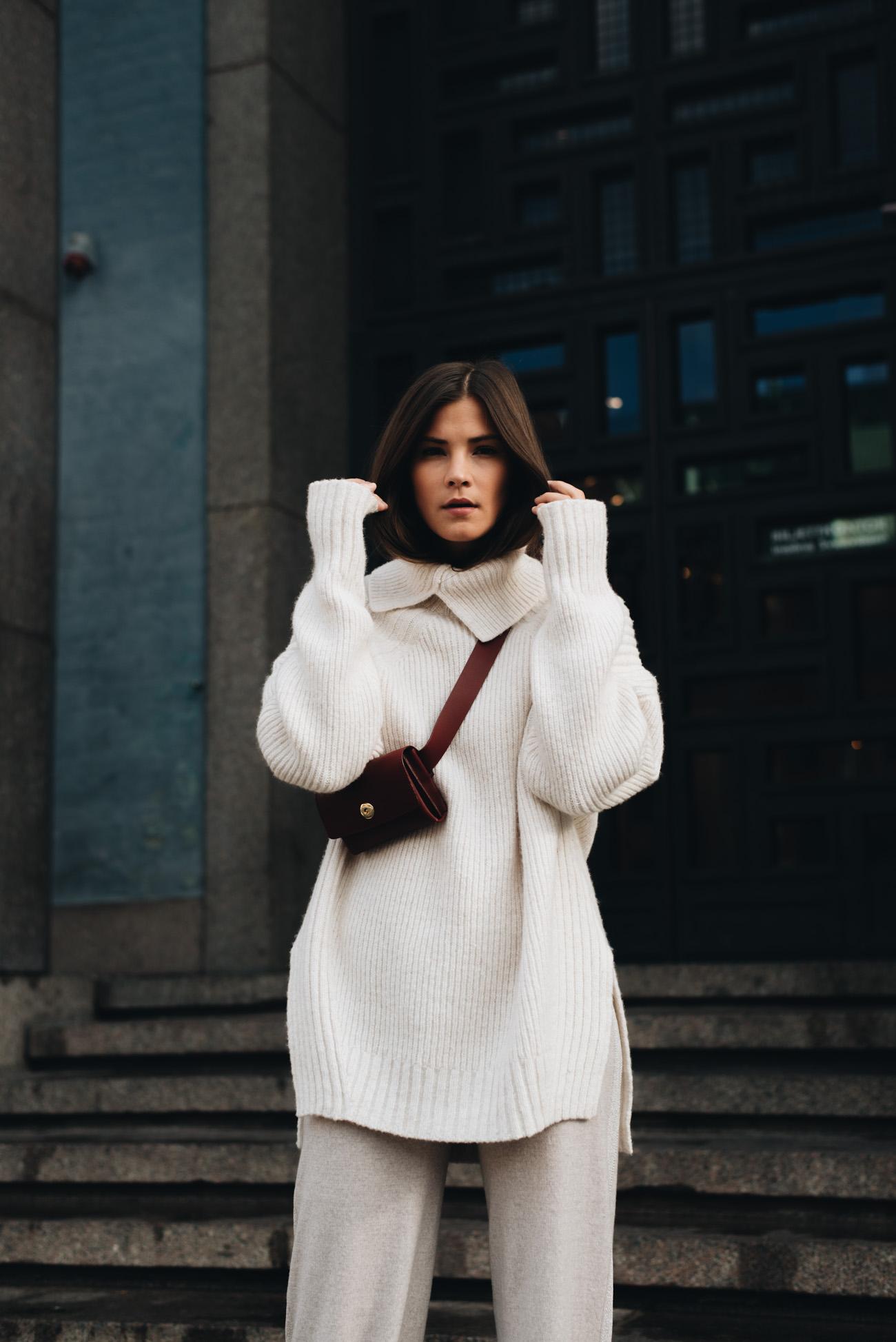 Herbst-und-winter-mode-trends-2017-strickpullover-H&M-studio-collection-2017-gürteltasche-mint-and-berry-trendübersicht-nina-schwichtenberg-bloggerin-fashiioncarpet