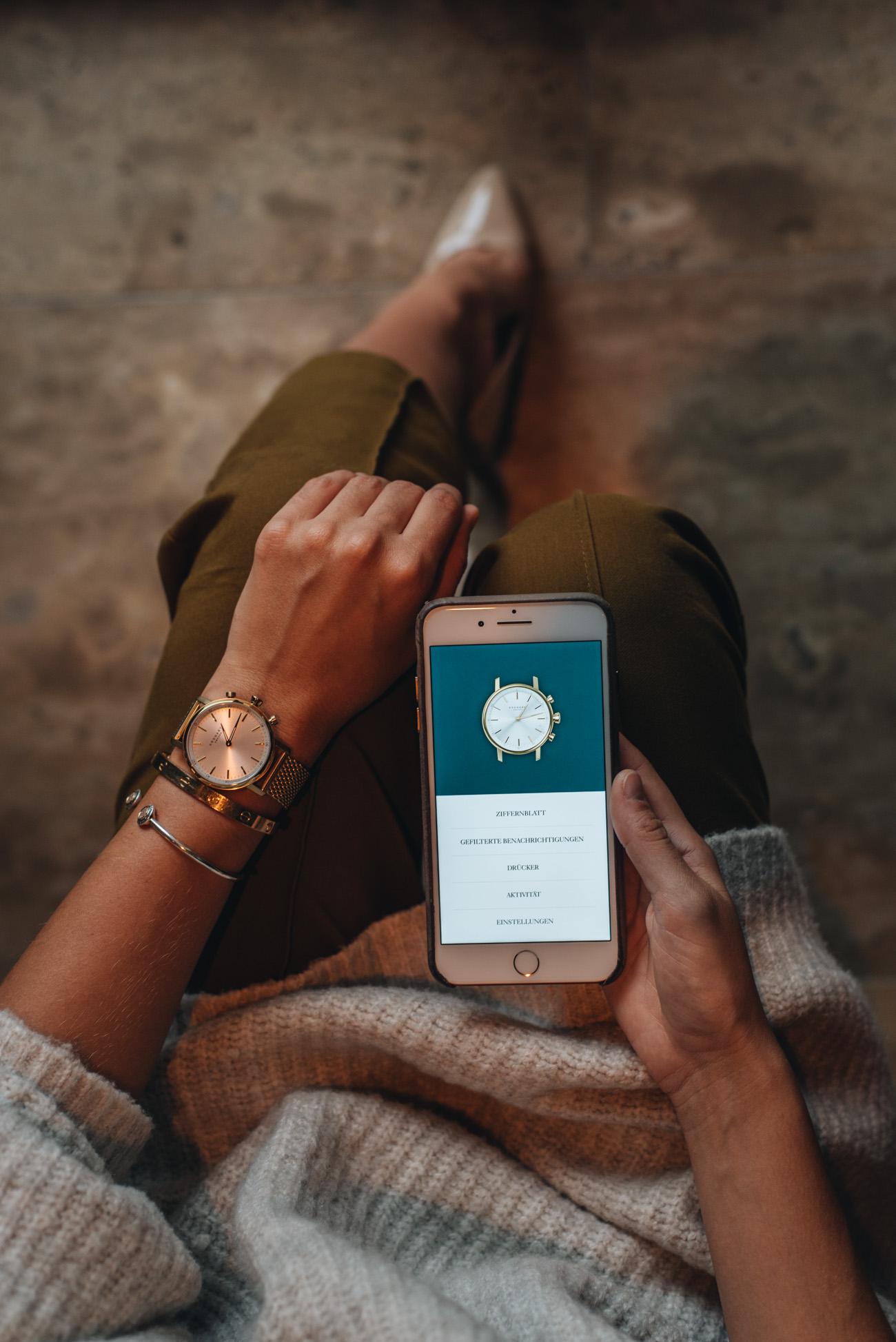 Kronaby-Mesh-Armband-Uhr-Connected-Watch-Smarte-Uhren-Erfahrung-schrittzähler-fuktionen-und-tools-fashiioncarpet-nina-schwichtenberg