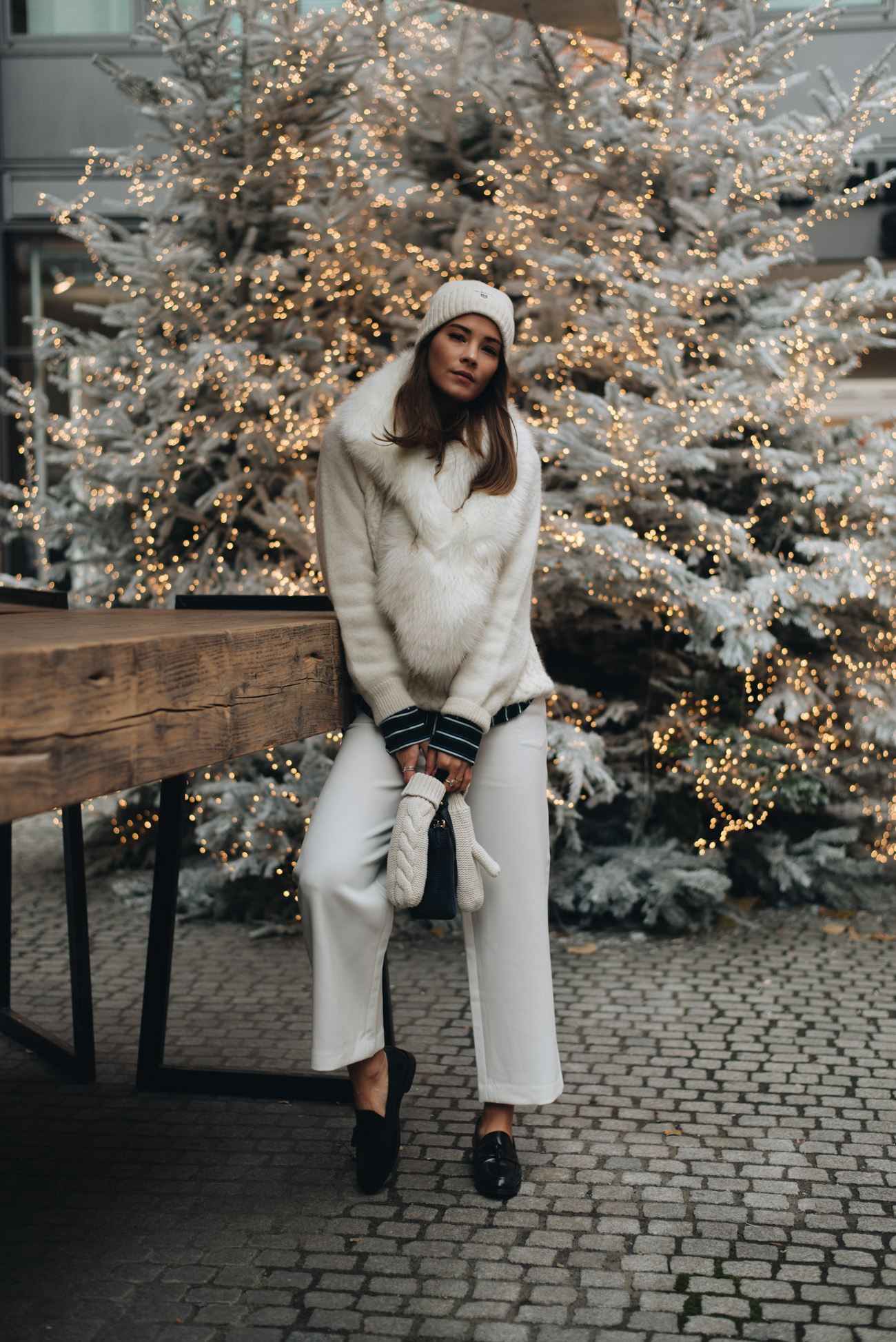 Warme-gemütliche-Winter-Pullover-Wolle-Strick-Mohair-Gant-weiß-im-winter-tragen-fashiioncarpet-nina-schwichtenberg