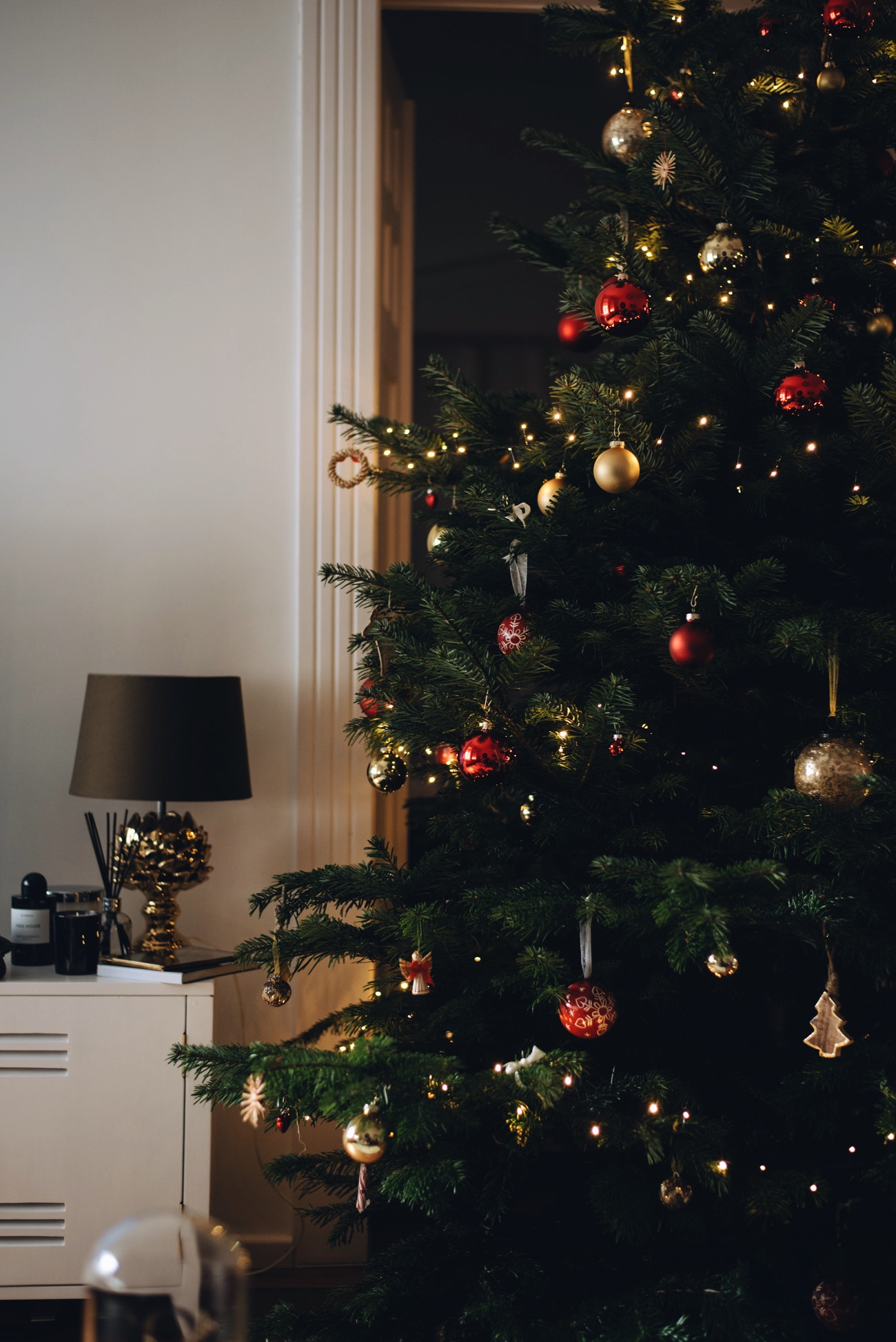 weihnachtsbaum dekoration ideen. Black Bedroom Furniture Sets. Home Design Ideas