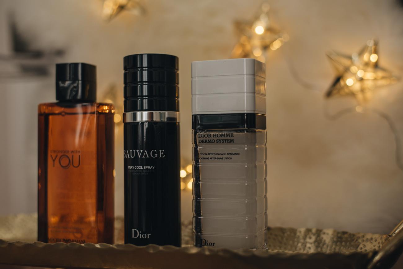 Weihnachtsgeschenke-für-den-Mann-Duschgel-Marken-Armani-Parfum-Dior-Aftershave-Fashiioncarpet-nina-schwichtenberg