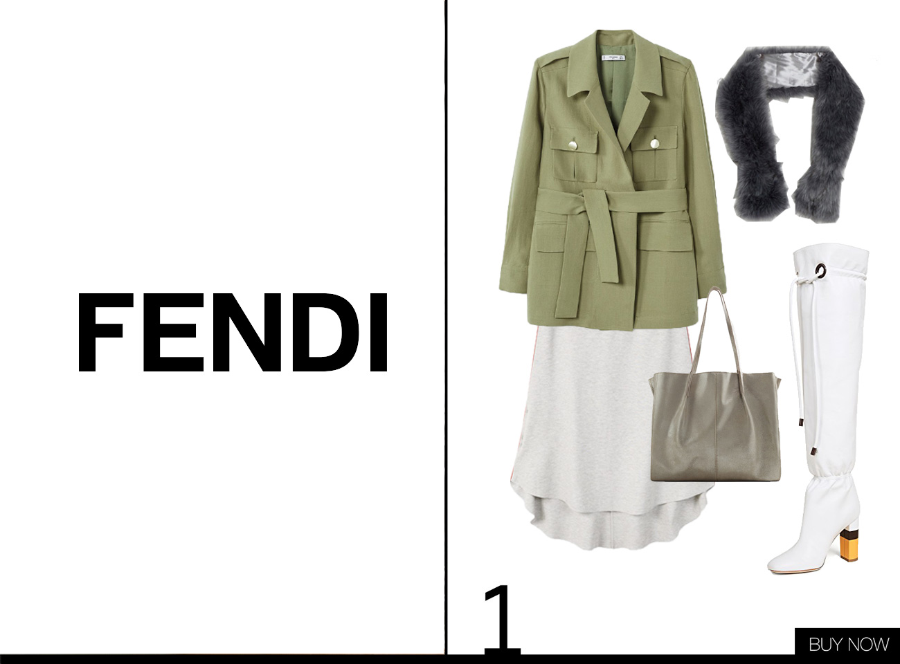 Fendi Herbst Winter Kollektion 18/19 nachgestylt