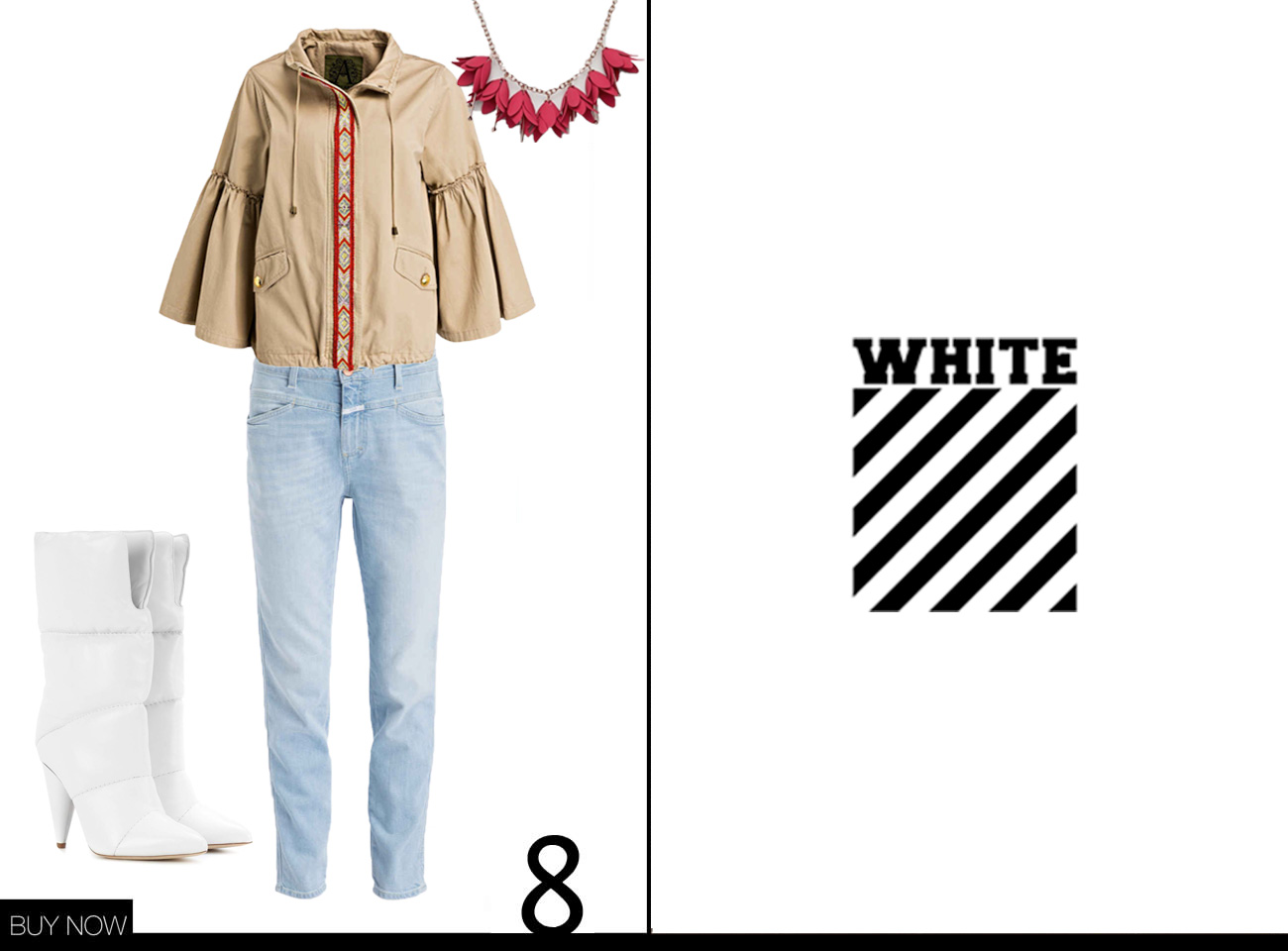 Off White Herbst Winter Kollektion 18/19 nachgestylt