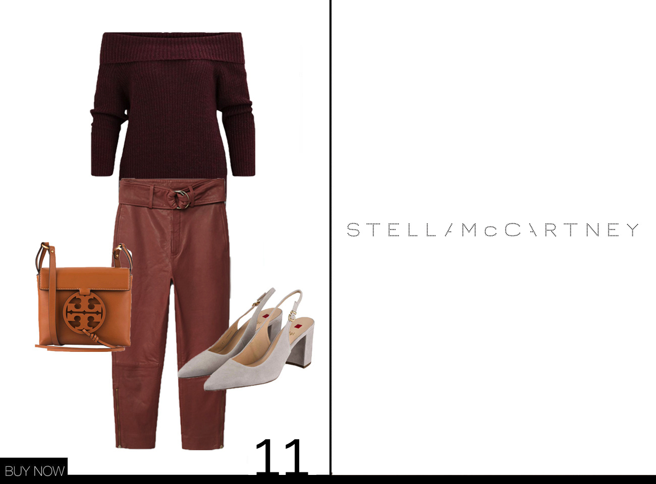 Stella McCartney Herbst Winter Kollektion 18/19 nachgestylt