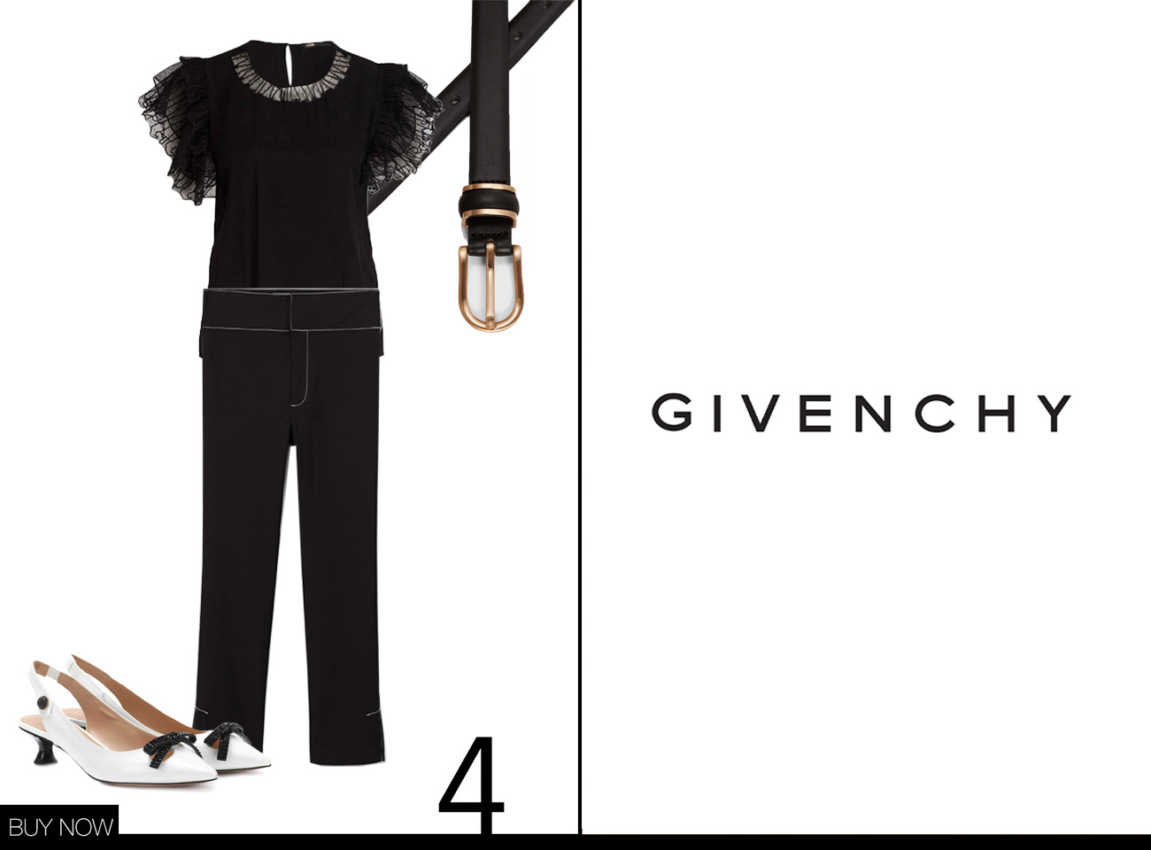 Givenchy Herbst Winter Kollektion 18/19 nachgestylt