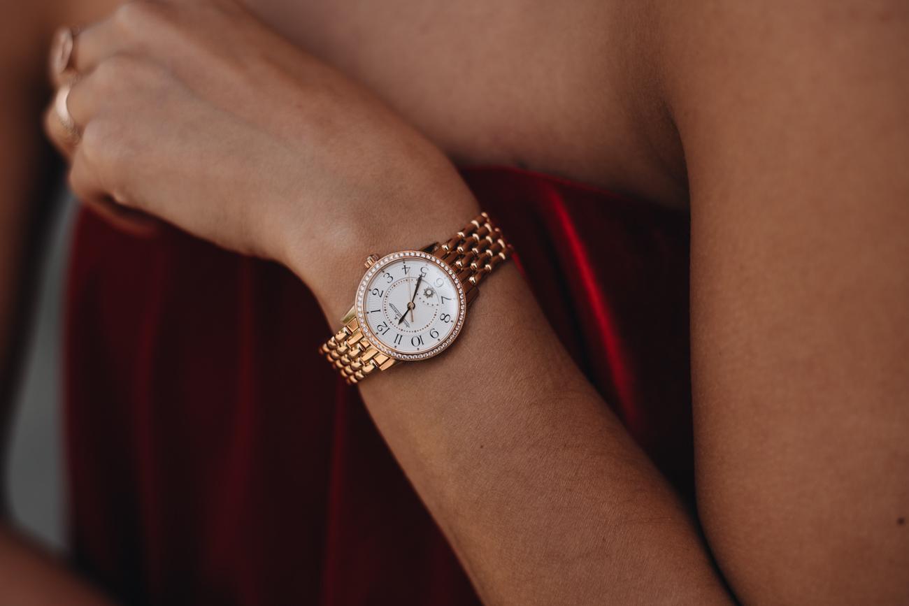 Jaeger-LeCoultre Rendez Vous Uhr Rot Gold