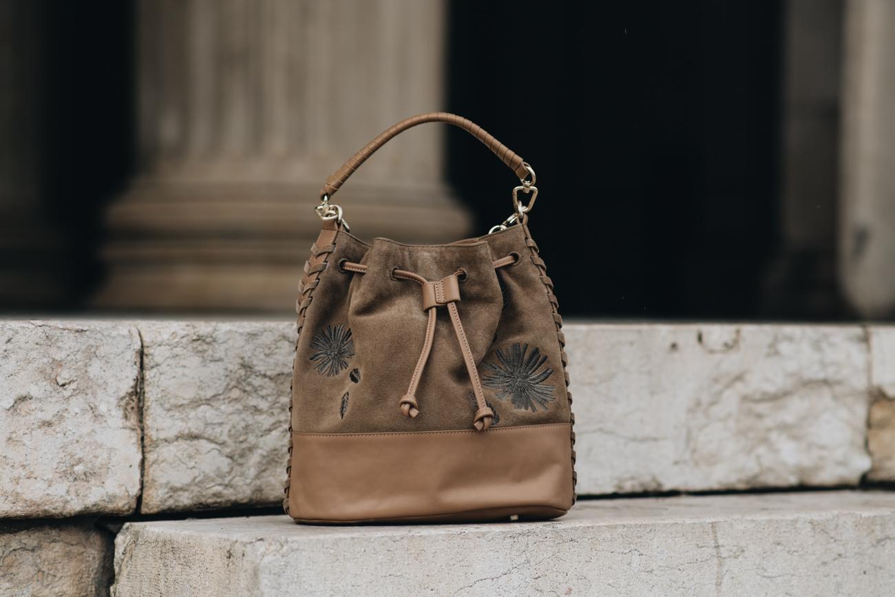 Nina Schwichtenberg Handtasche für Liebeskind Berlin