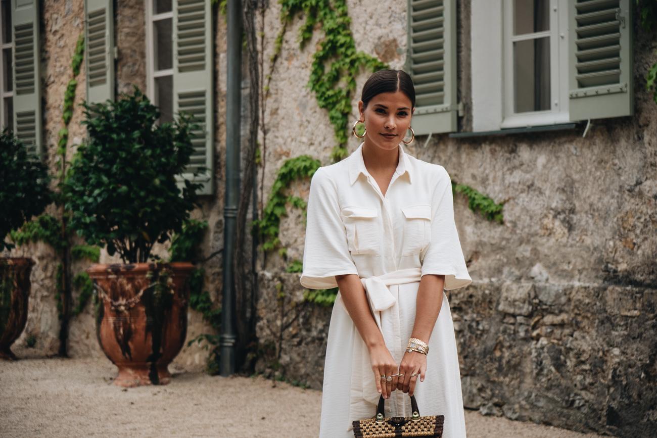 Nina Schwichtenberg auf dem Dior Château de la Colle Noire