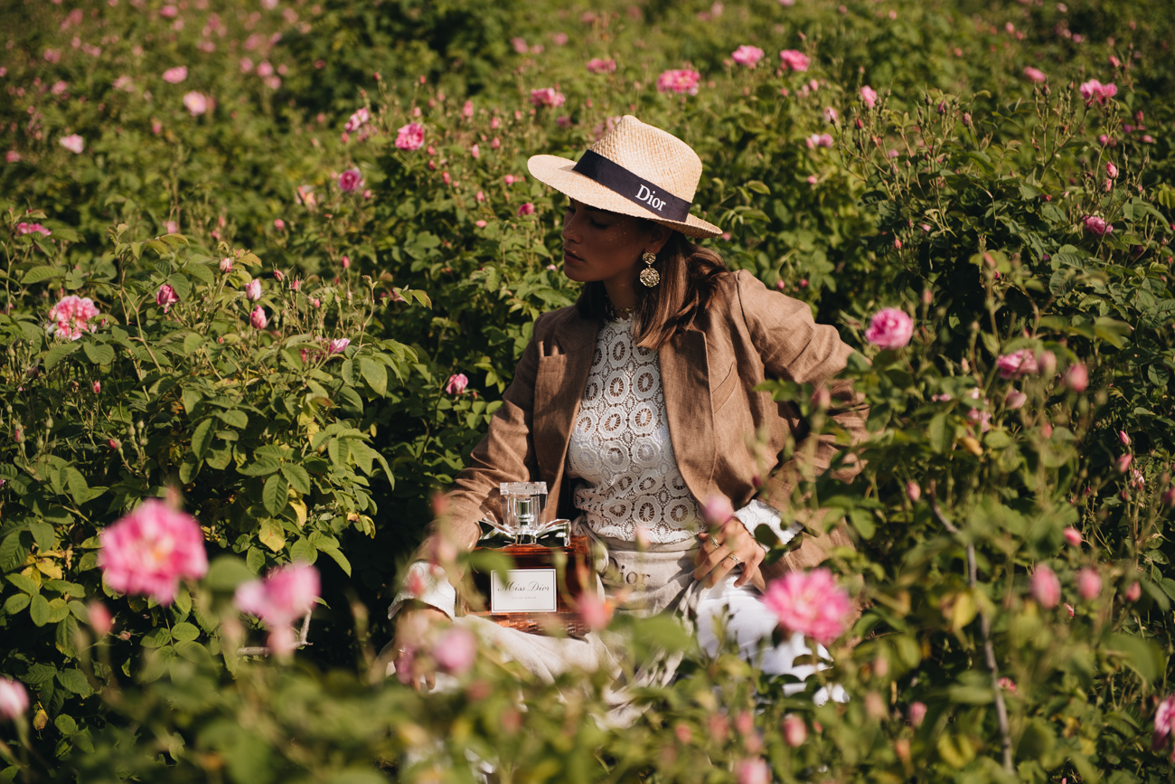 Nina Schwichtenberg im Dior Domaine de Manon