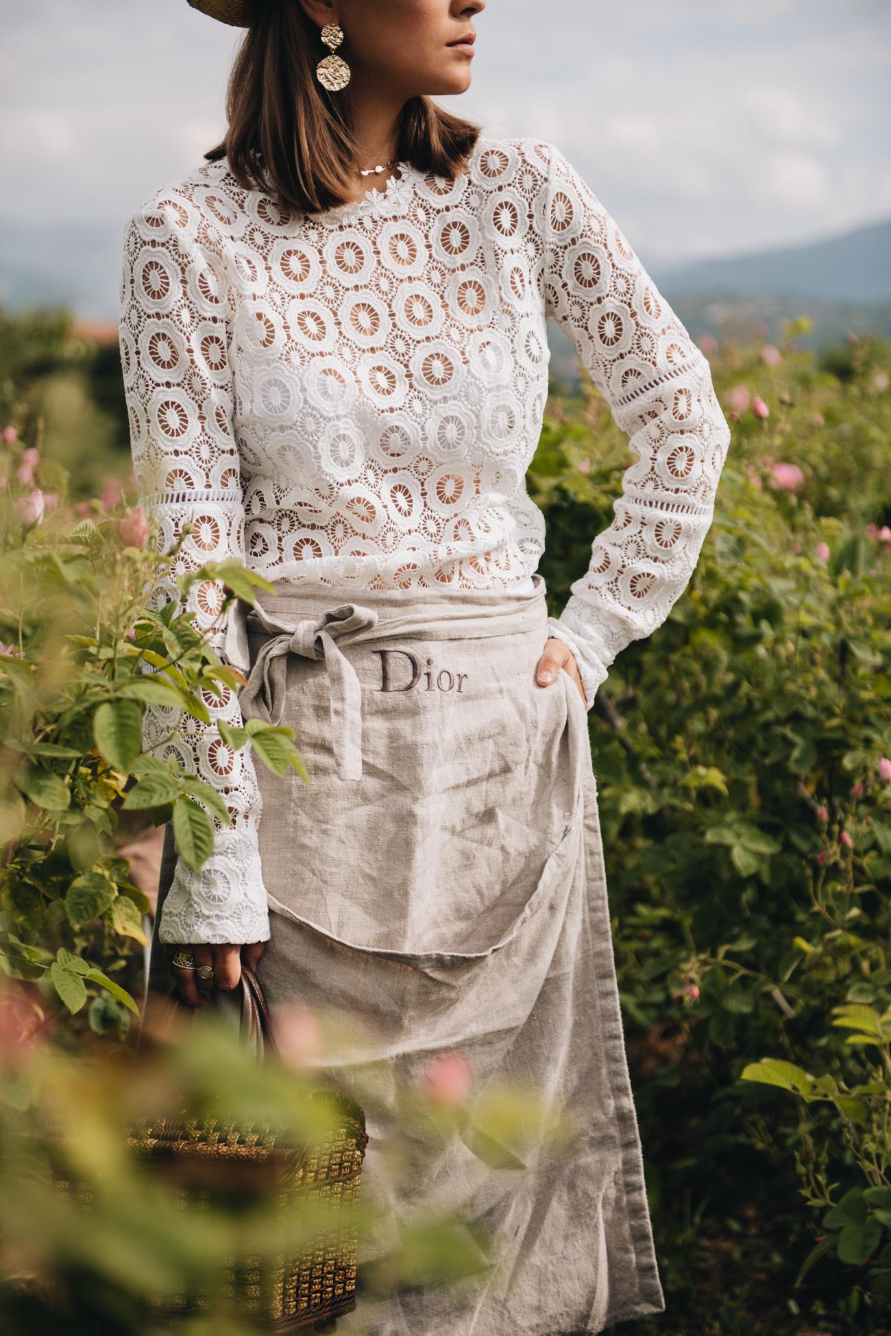 Dior Schürze