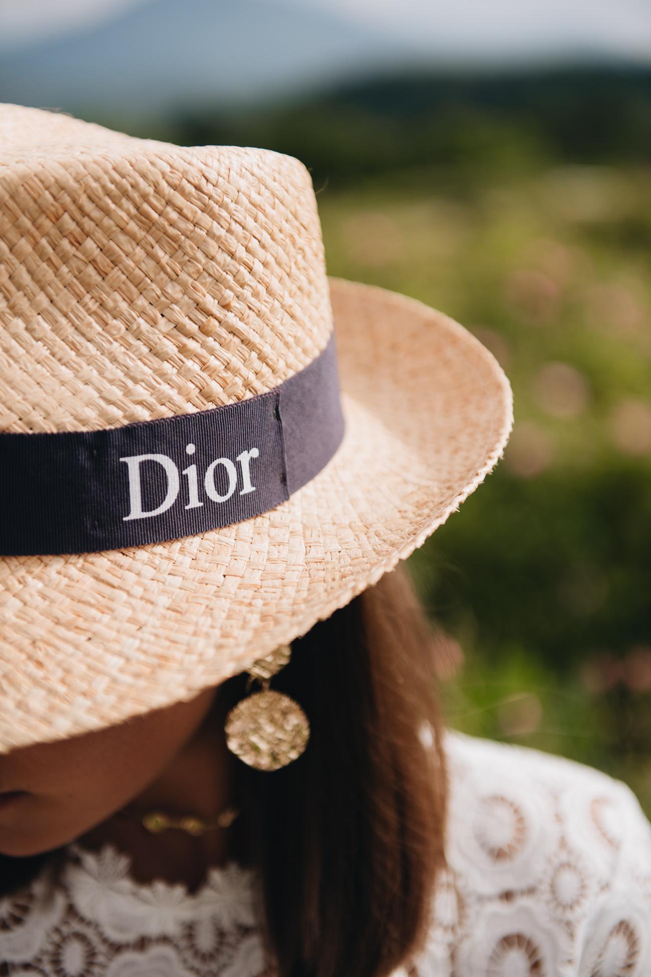 Dior Strohhut