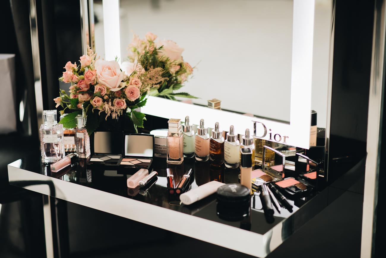 Dior Suite Cannes Schminktisch