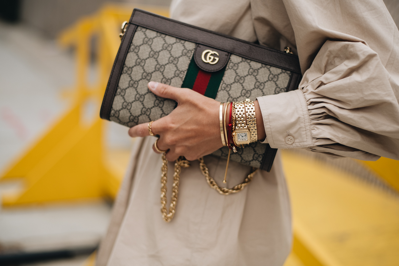 Gucci Ophidia Logo Bag
