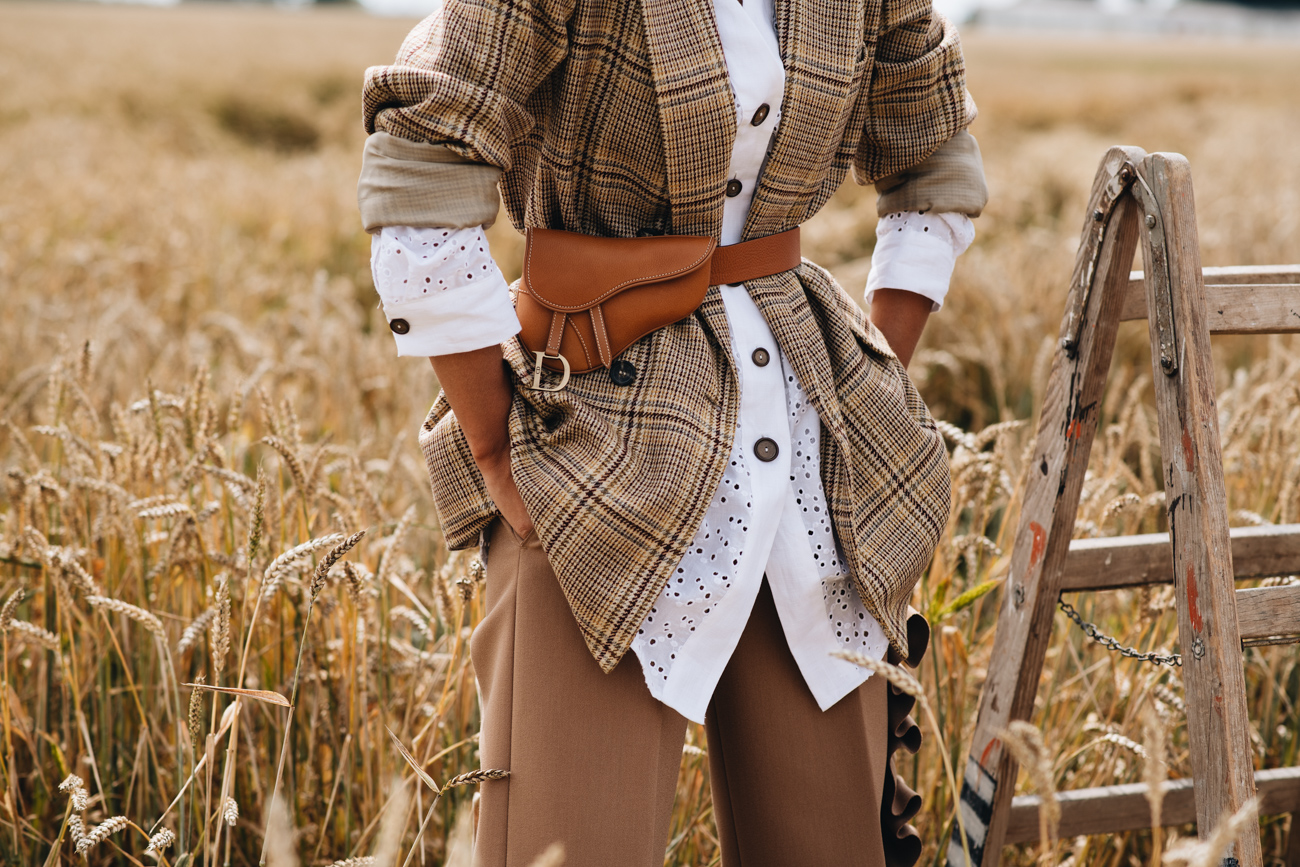 Dior Saddle Bag Bauchtasche