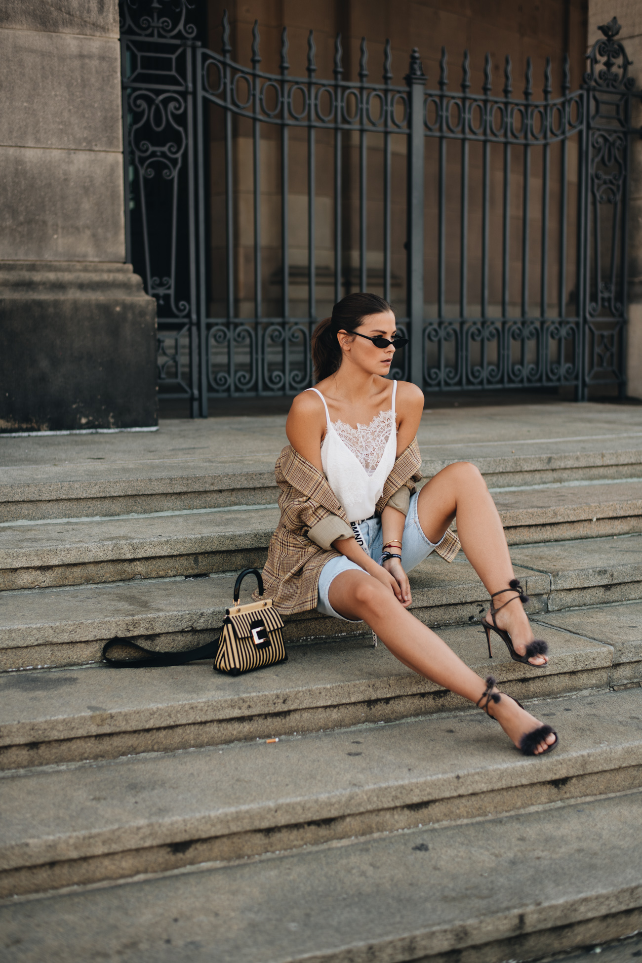 Sommer Outfit Bermuda