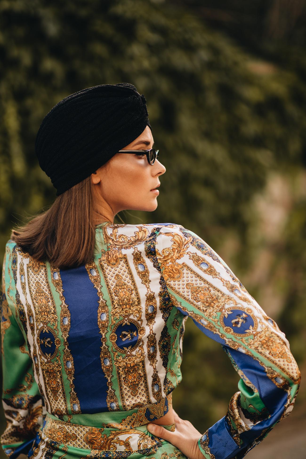 Turban schwarz