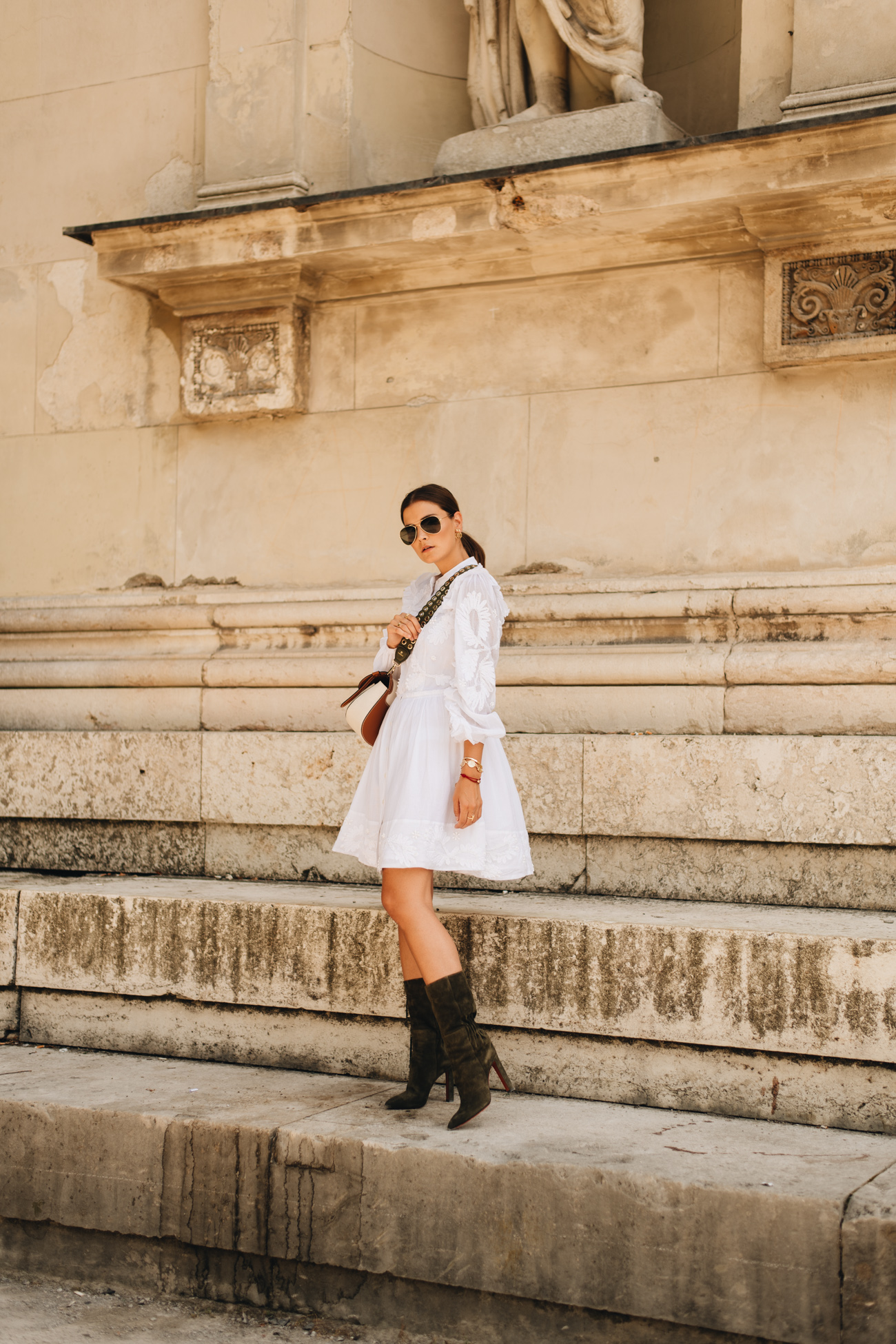 Sommer Outfit mit Kleid