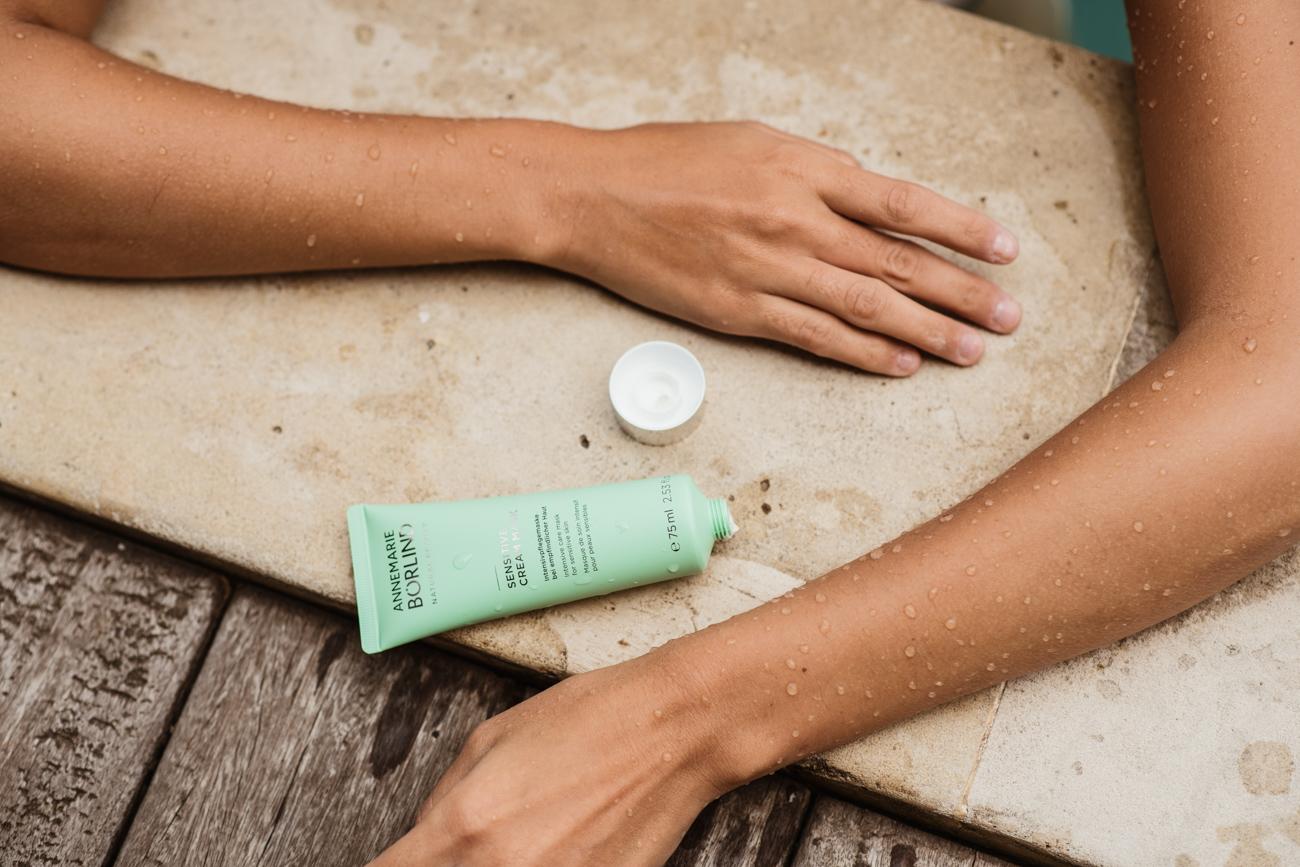 Gesichtsmaske für sensible Haut