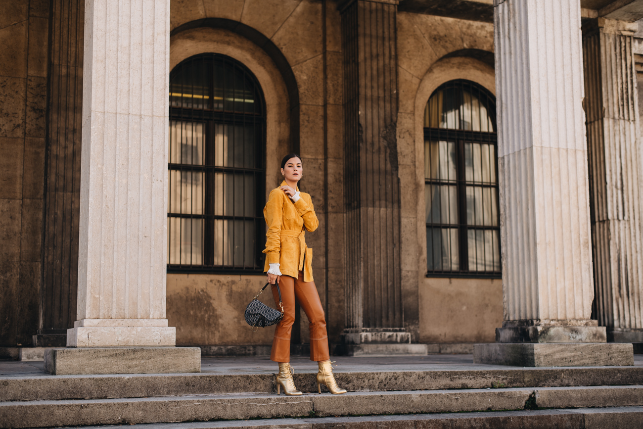 Farbenfroher Herbst Look