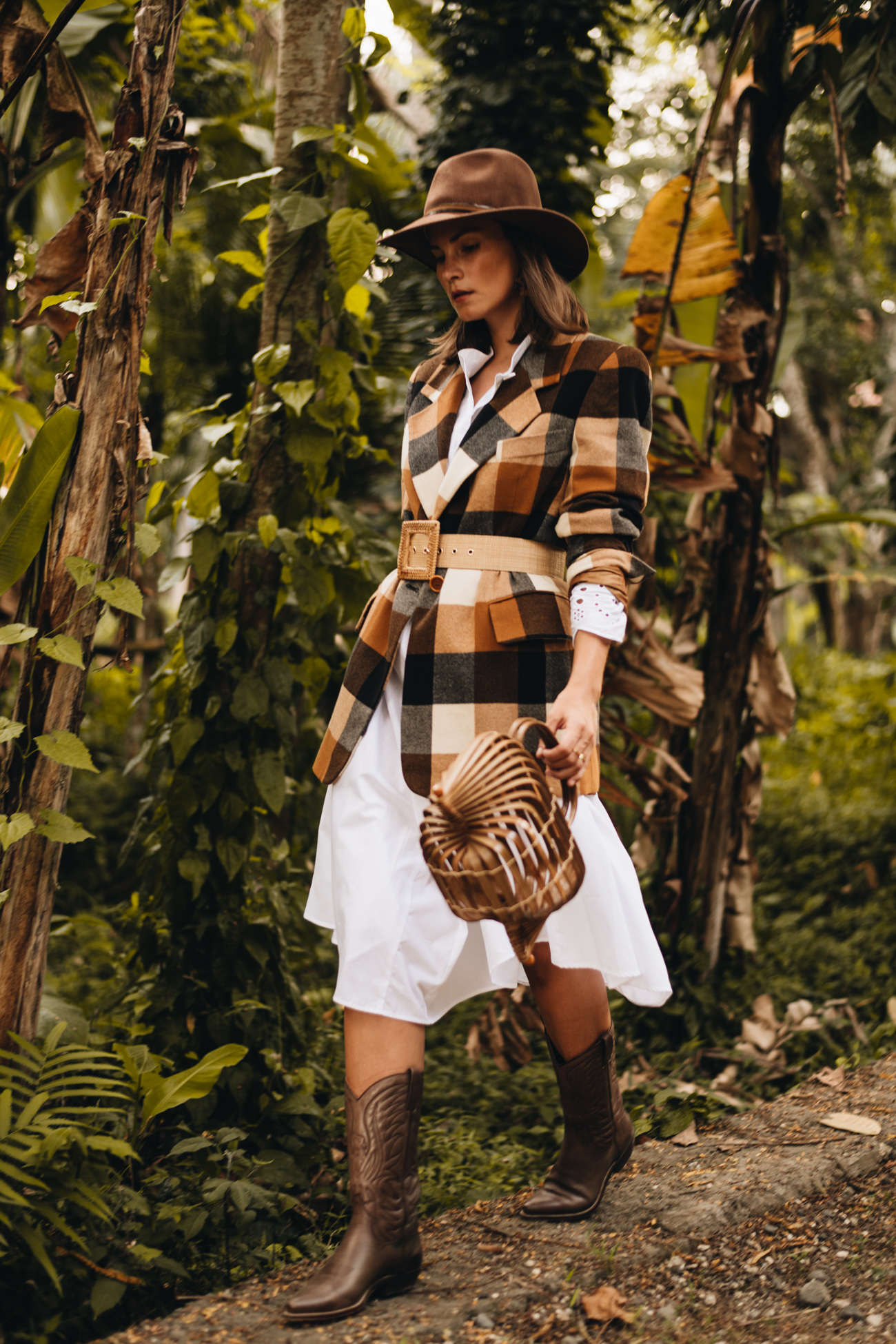 Herbst Outfit mit Blazer