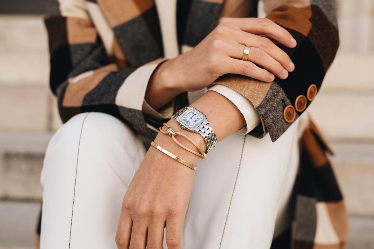 Cartier Schmuck Klassiker kombiniert