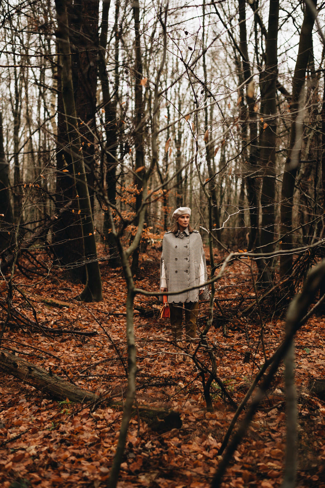 Foto Shooting im Wald