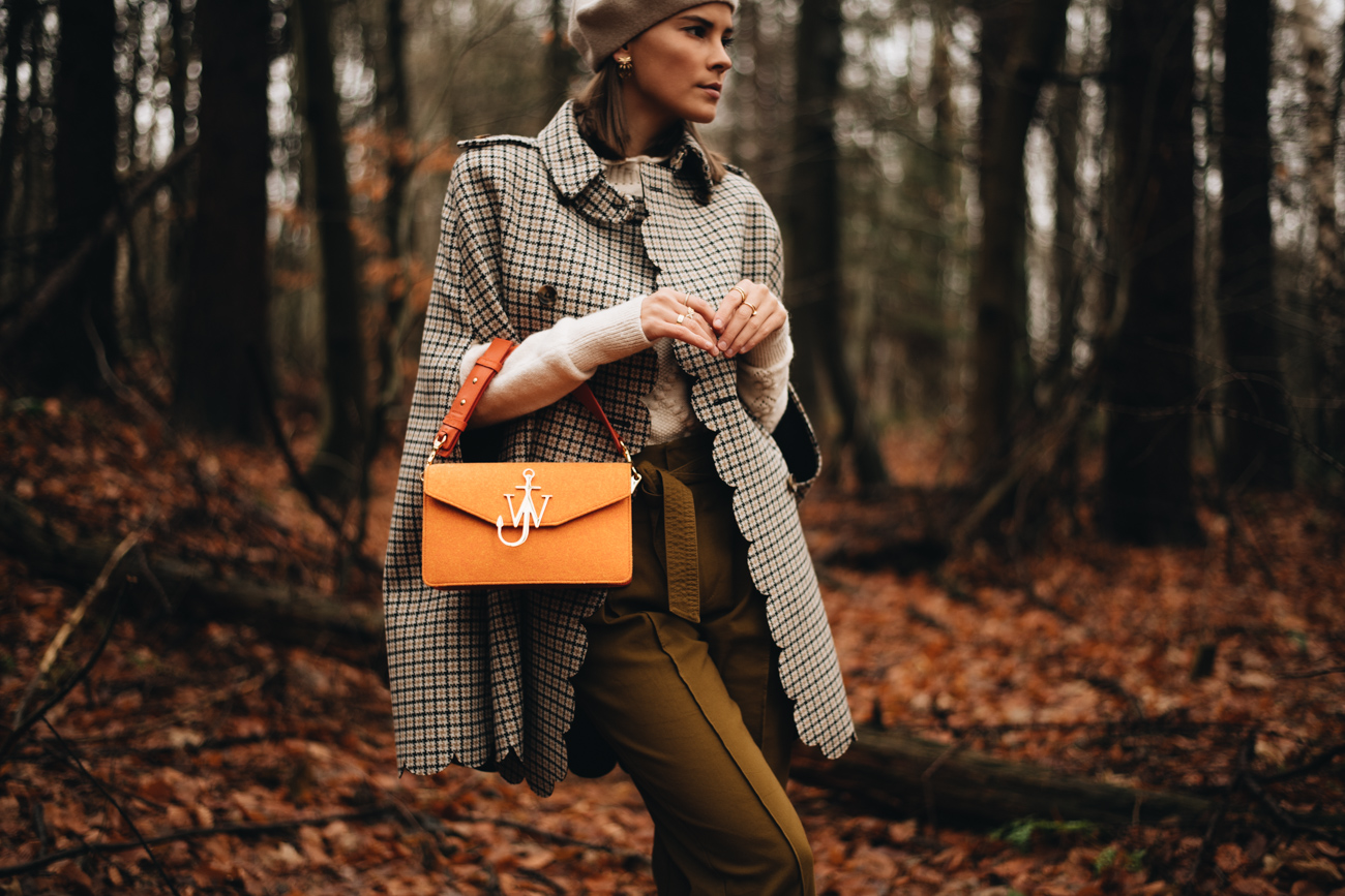 Herbst Outfit mit Cape