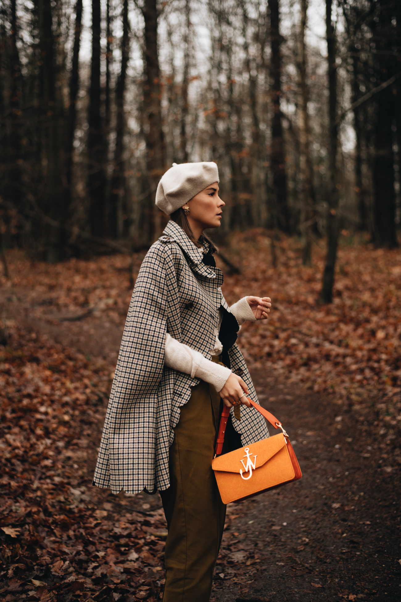 Herbst Outift Inspiration mit Cape