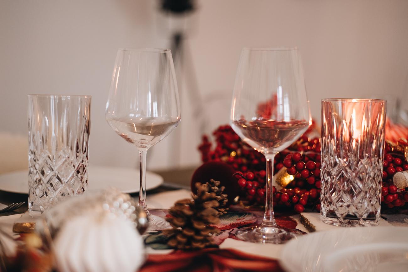 Tisch Dekoration Weihnachten