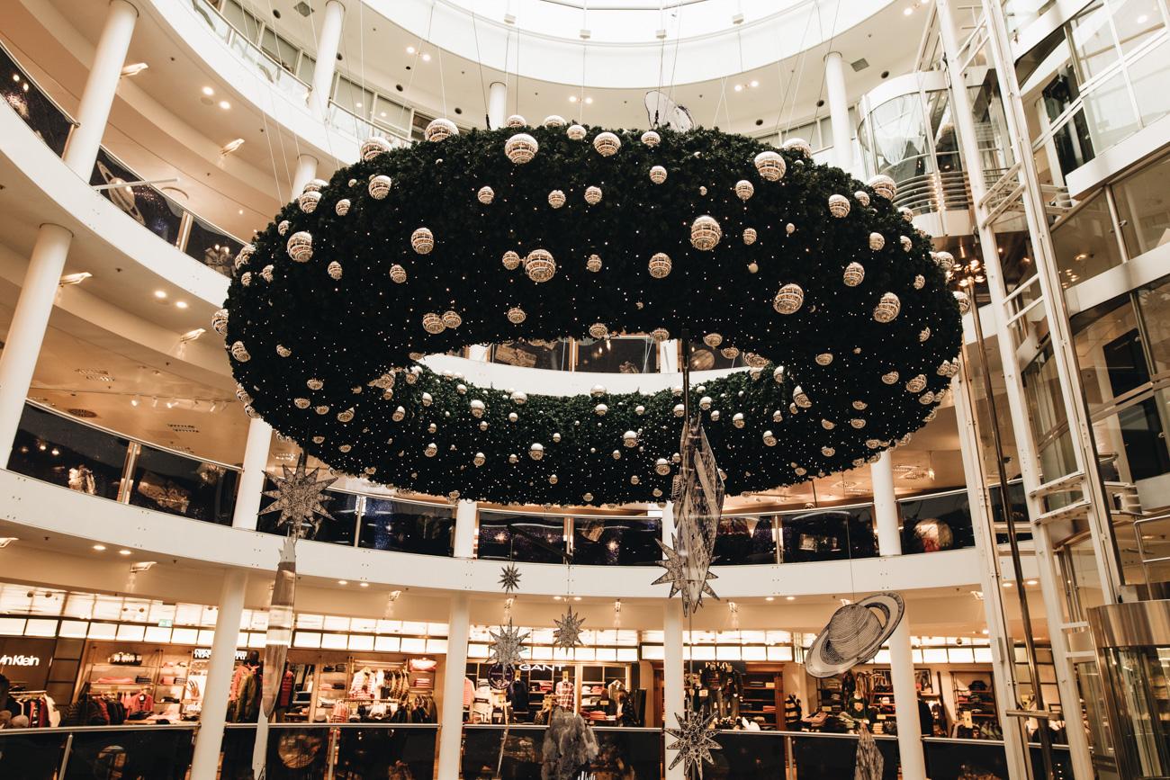Breuninger Stuttgart zur Weihnachtszeit