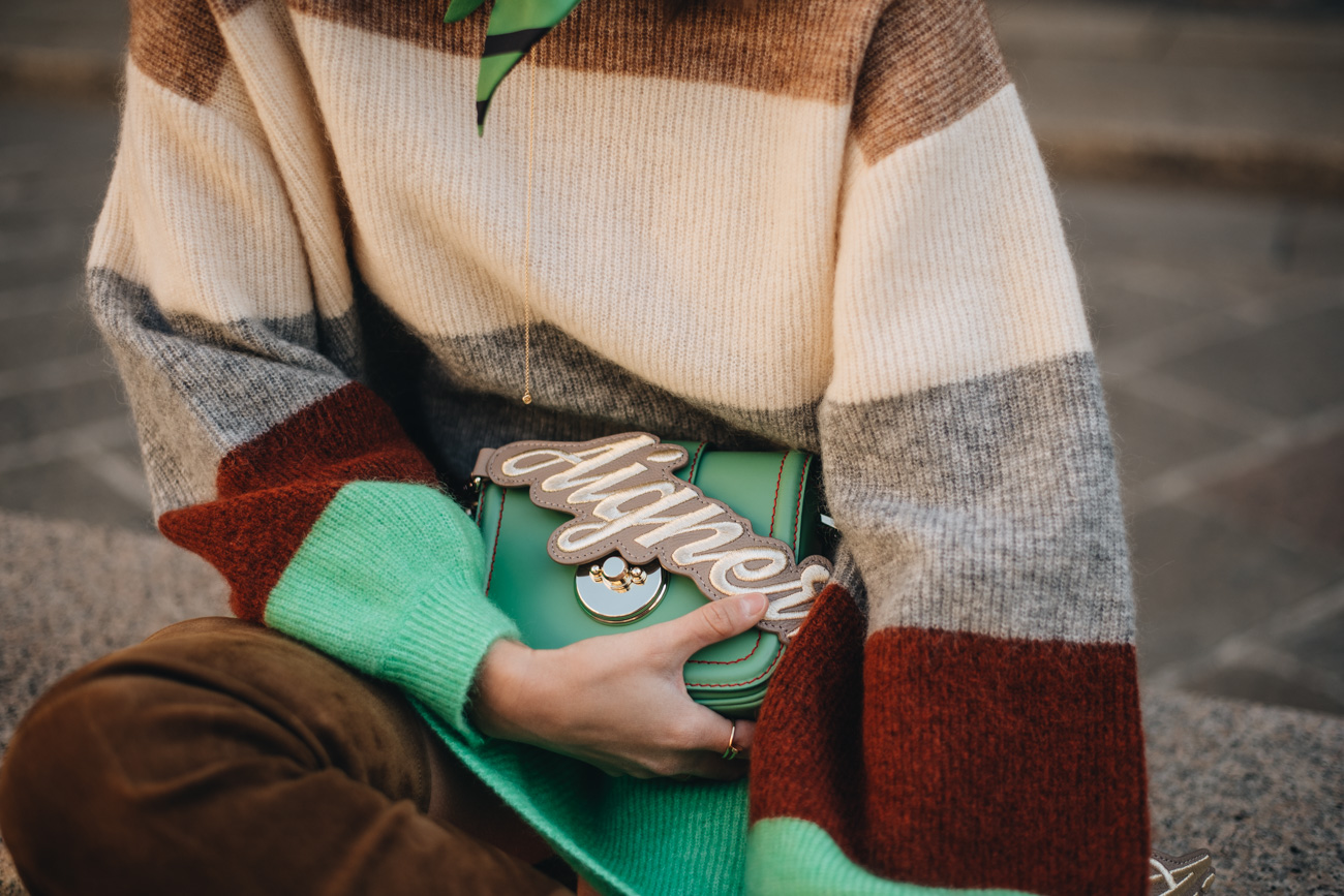 Aigner Logo Taschen Strap