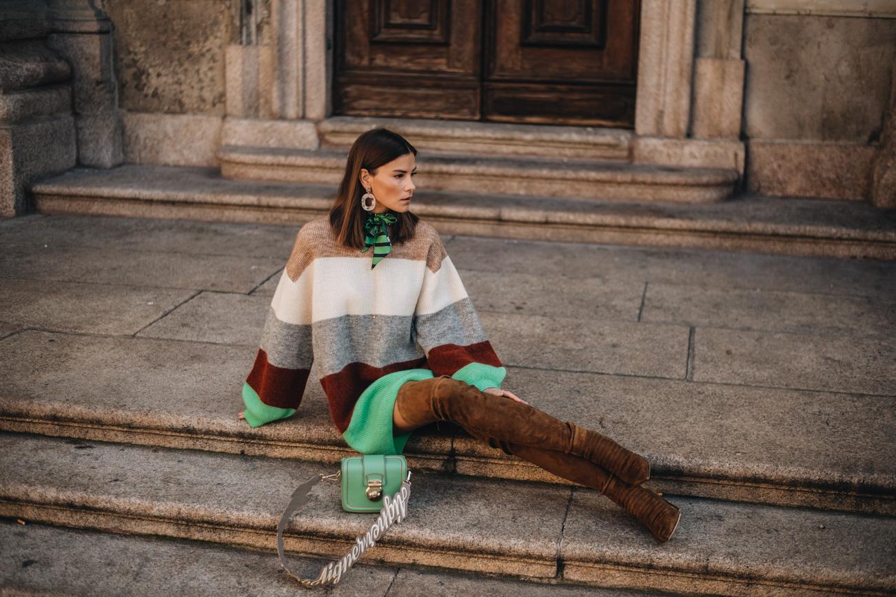 laurence dacade-Saskia Overknee Stiefel Braun