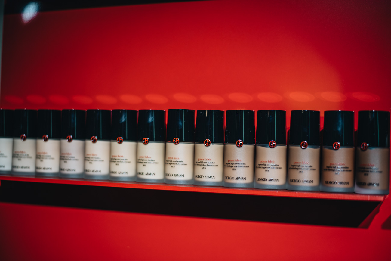Giorgio Armani Power Fabric Foundations