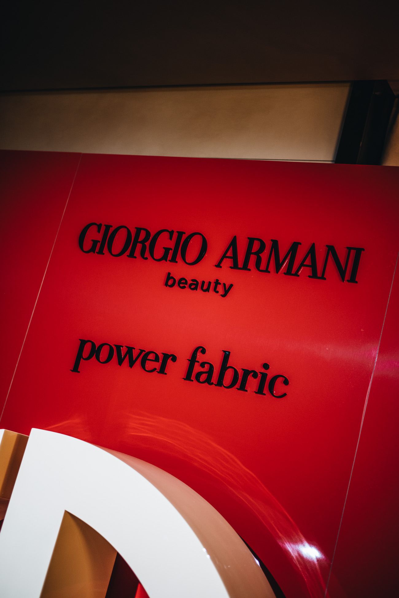 Giorgio Armani Power Fabric Produkte