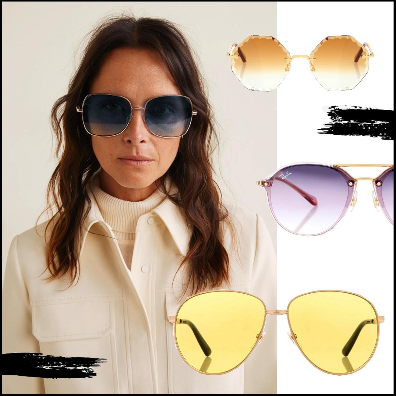 Accessoire Trend 2019 Sonnenbrillen Pastellfarben