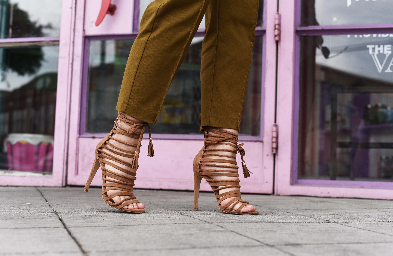 Schuhtrend Riemchen Sandalen