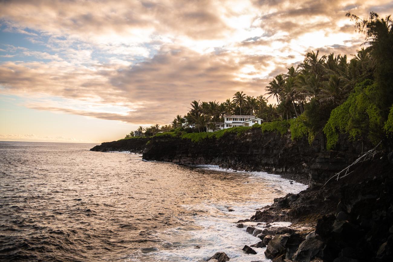 Hawaii Big Island schwarze Strände