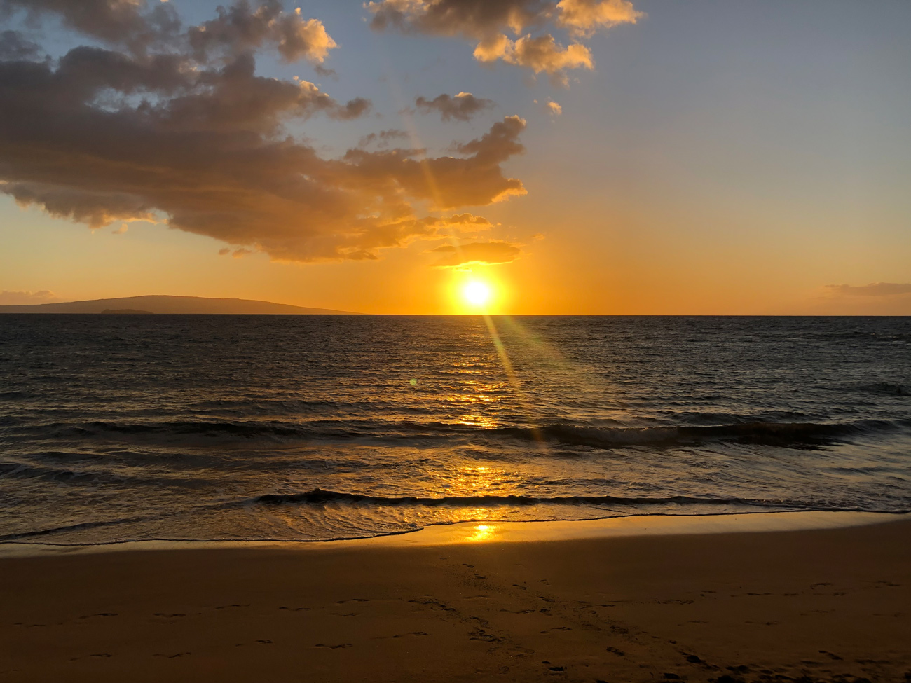 Maui Hawaii Sonnenuntergang